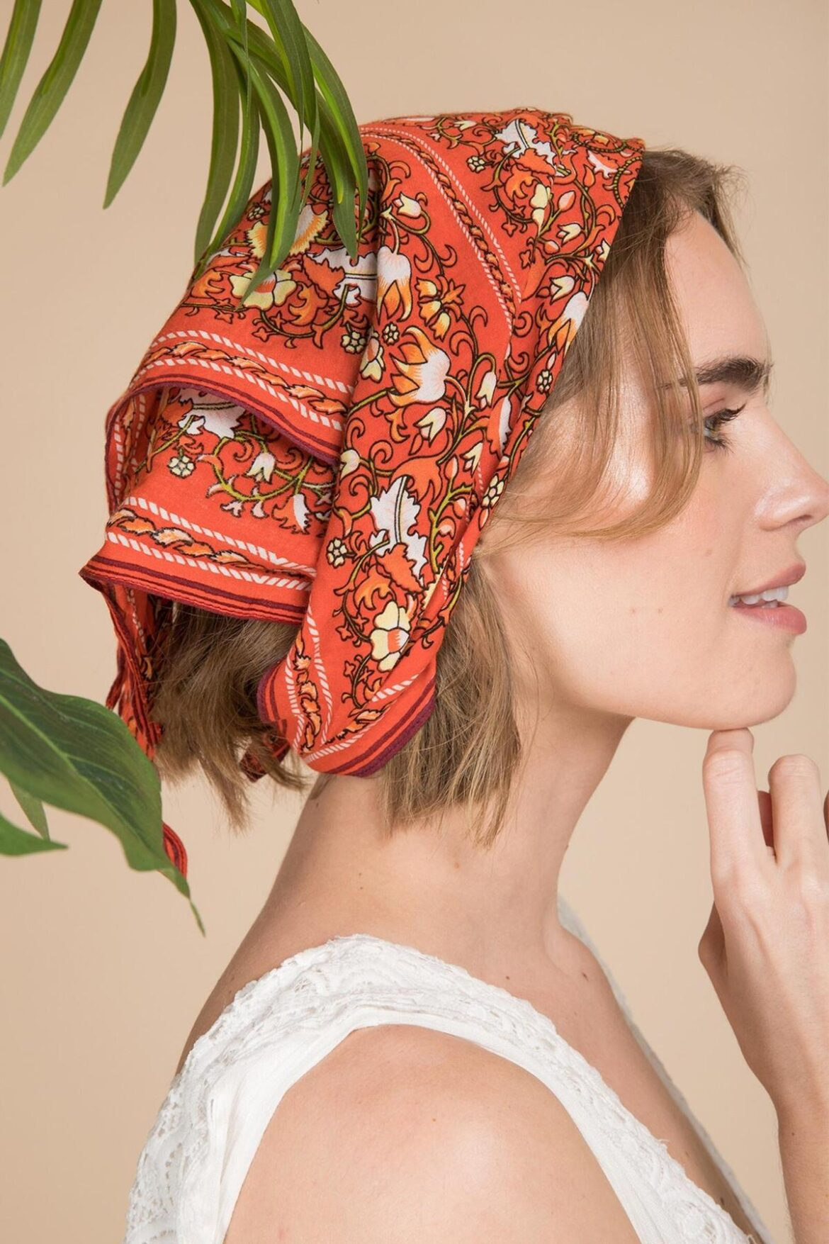Head Scarf Styles for Bad Hair Days and Beyond