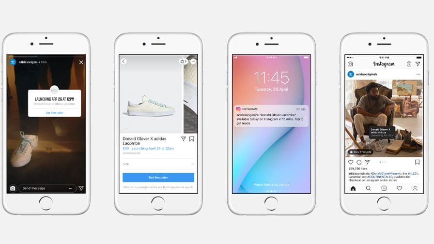 """Instagram has launched new shopping feature """"drops"""" for the latest products"""