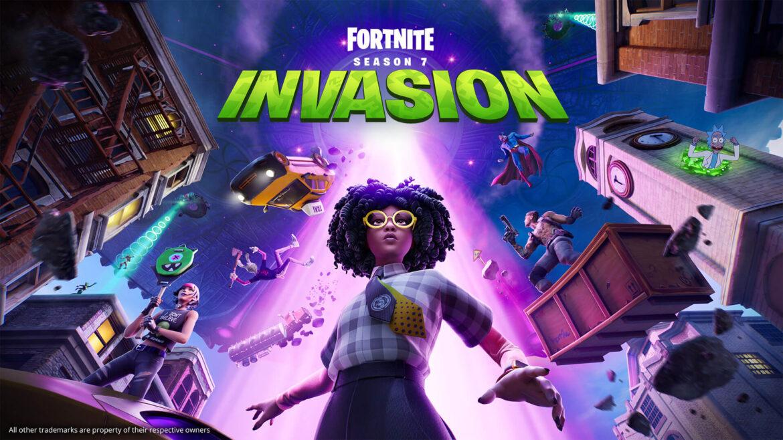 Fortnite Season 7 Chapter 2 : Invasion is live, bringing UFOs, Aliens, Superman, New battle Pass……..