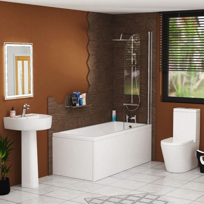 Décor Home with a Complete Bathroom Suite