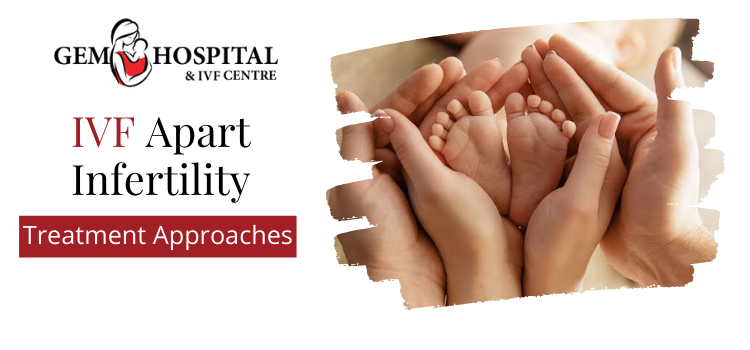 Which Are The Infertility Treatment Approaches Apart From The IVF Procedure?