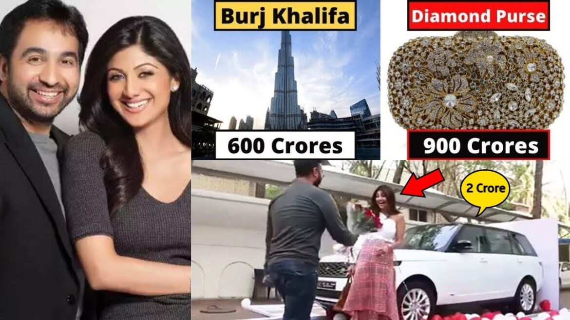 Special gifts by the Business tycoon Raj Kundra to his wife Shilpa Shetty.