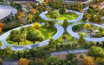 Redevelopment project for ten public parks in Dubai