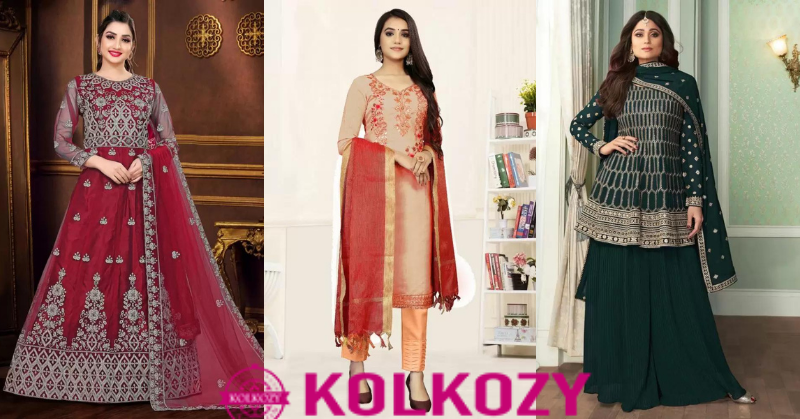 Designer Salwar Kameez Online from Kolkozy Fashion