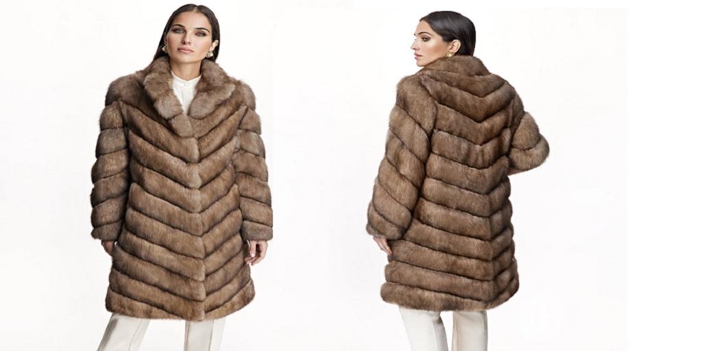 Dress to Impress with a Light Blue Fur Coat