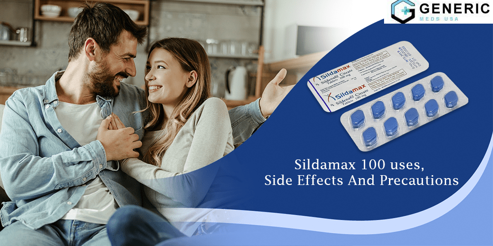 Sildamax 100mg: Brings Back Enhancement in your love life
