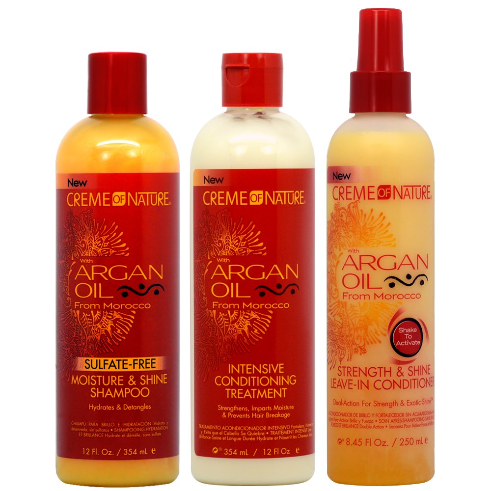 Creme Of Nature Shines Different And Unveils New Look Of Signature Argan Oil From Morocco Collection