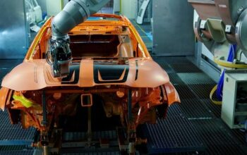 BMW Eliminates Overspray with Robotic Painting Process