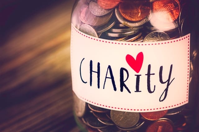 How donating to charity can help people