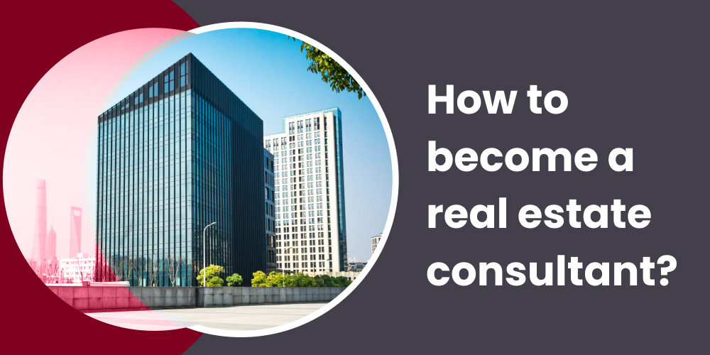How to become a real estate consultant?