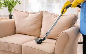 I clean my upholstery